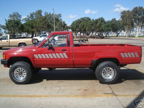 Dsl Toyota Trucks 1985 Toyota 4 4 Turbo Diesel Side