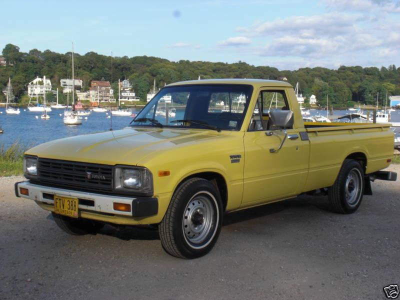 1982 toyota diesel pickup